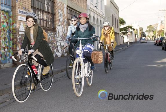 bunchrides branding
