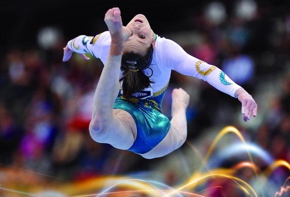 Gymnastics Australia branding