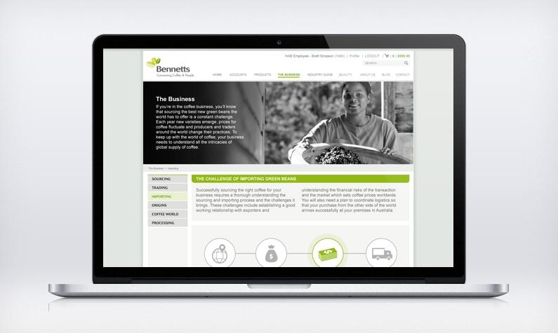 Bennetts website