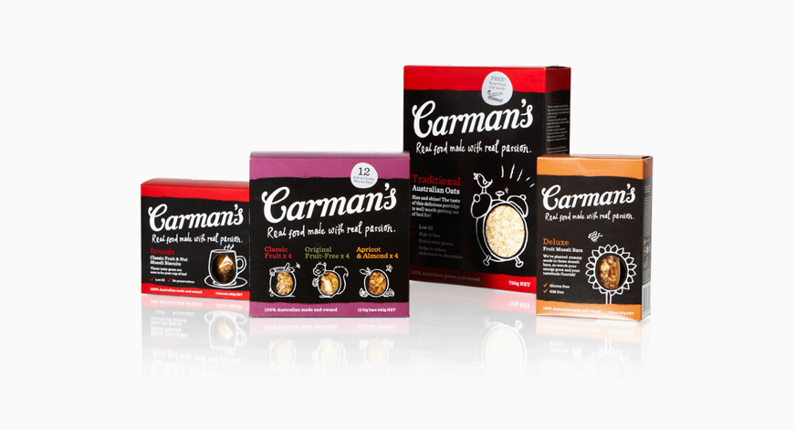 Carmans branding