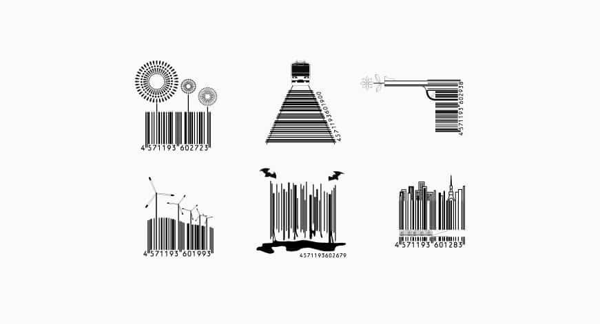 Designer barcode for brand