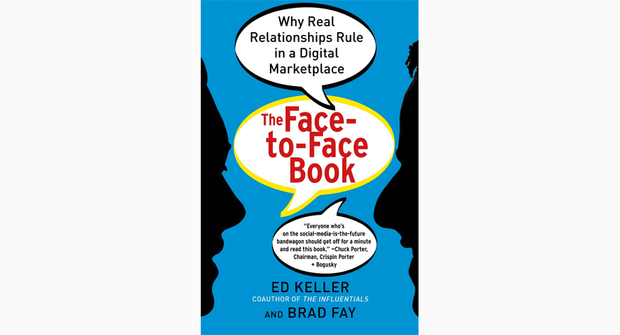 Facebook vs face-to-face. It's complicated.