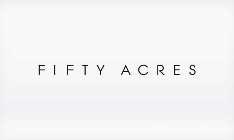 Fifty acres logo
