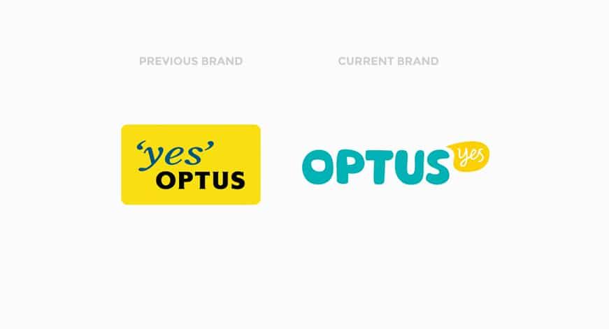 Optus Brand Evolution