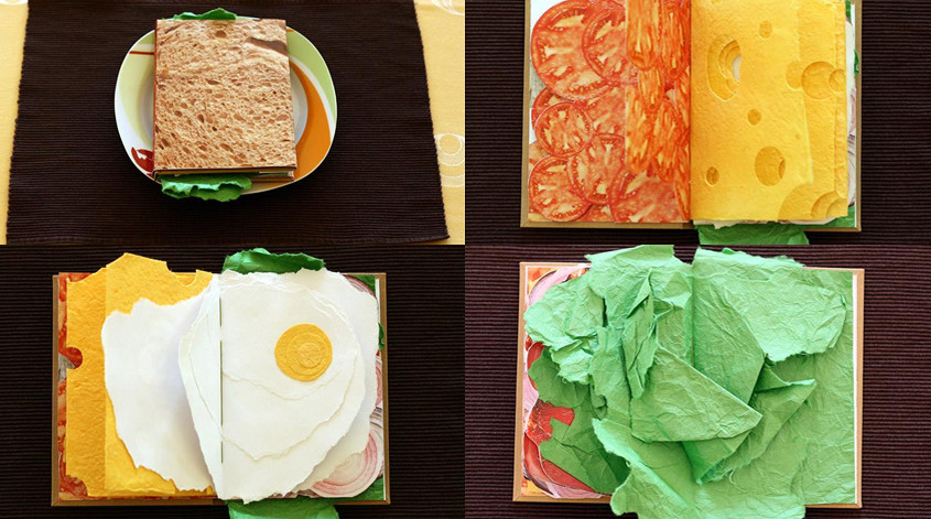 Book design that make you want to eat it