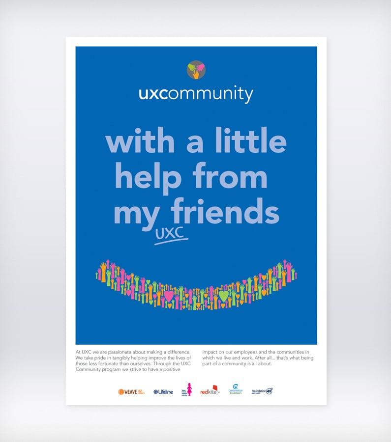 UXC community poster