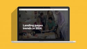 Landing pages trends in 2016