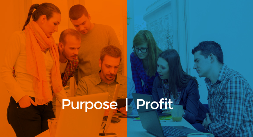 Finding balance between purpose and profit