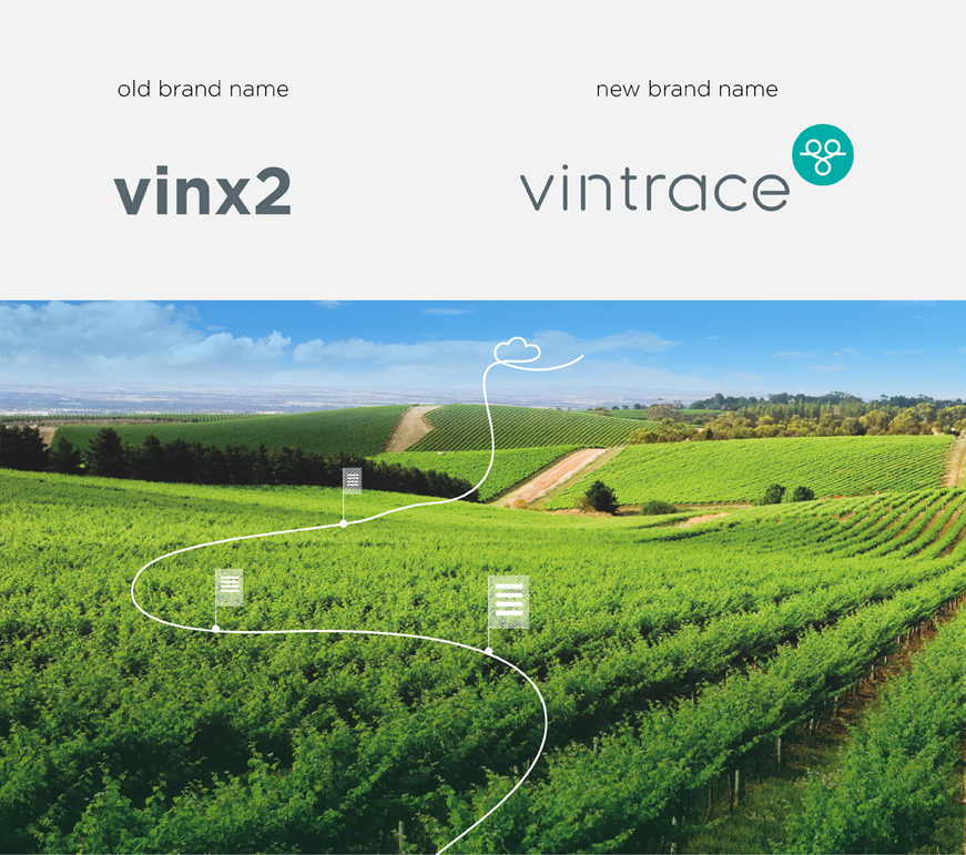 vintrace new business name branding