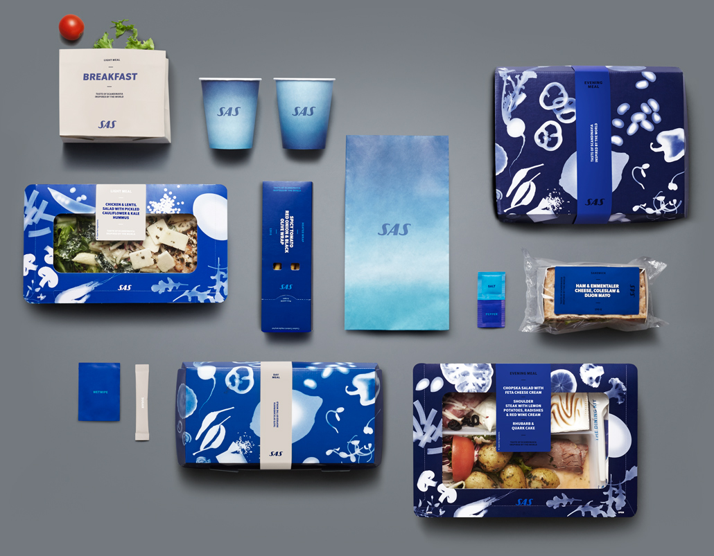 SAS rebrand material packaging design