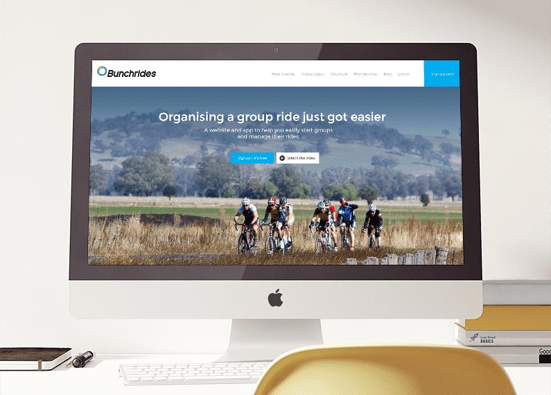 bunchrides branding web