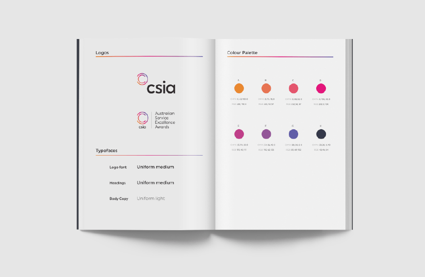 CSIA branding style guide