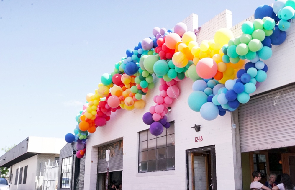 Belle balloons marriage equality