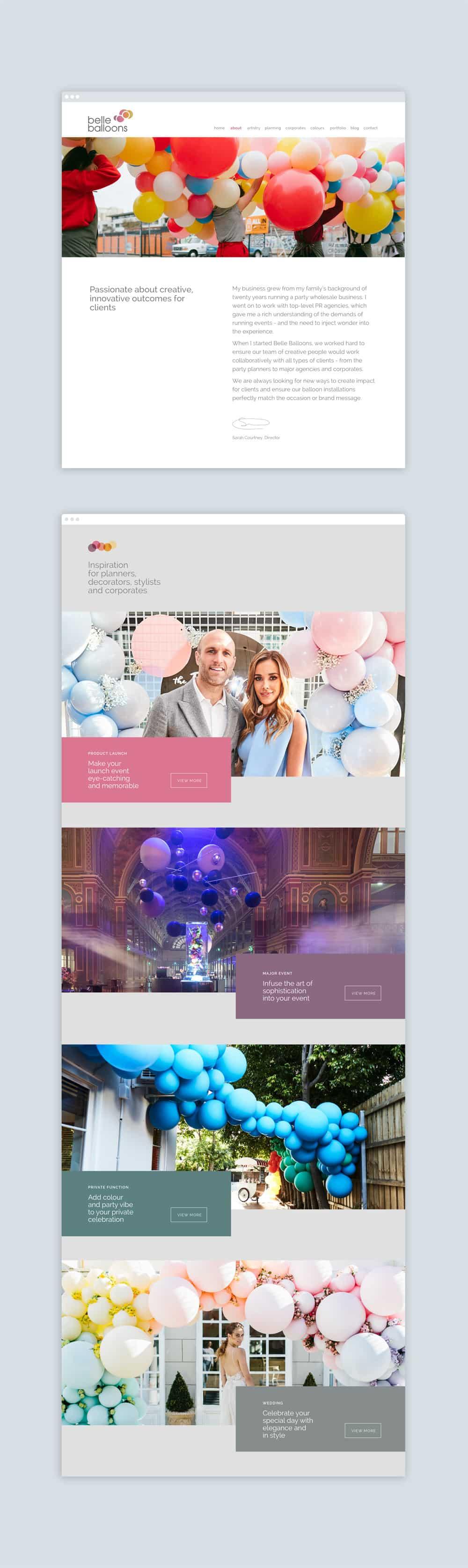 Branding Web Design
