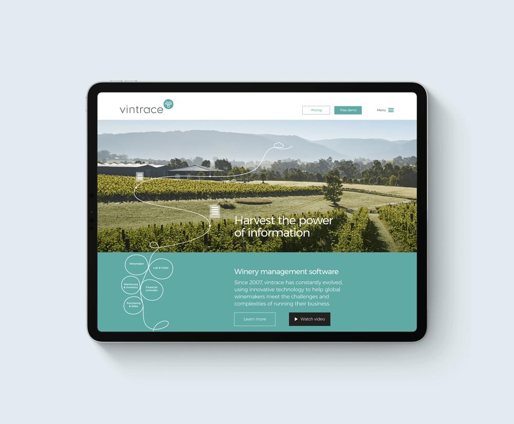 vintrace brand agency