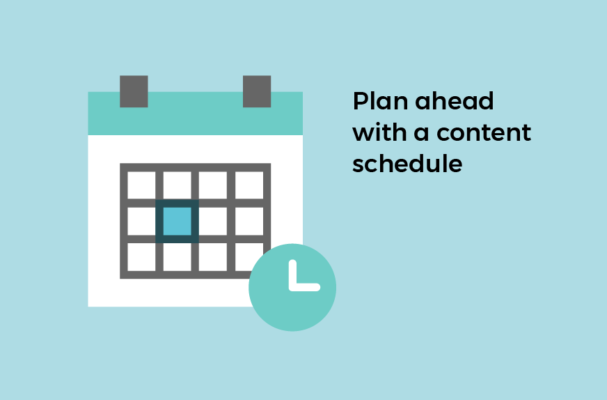 branding social media content calendar
