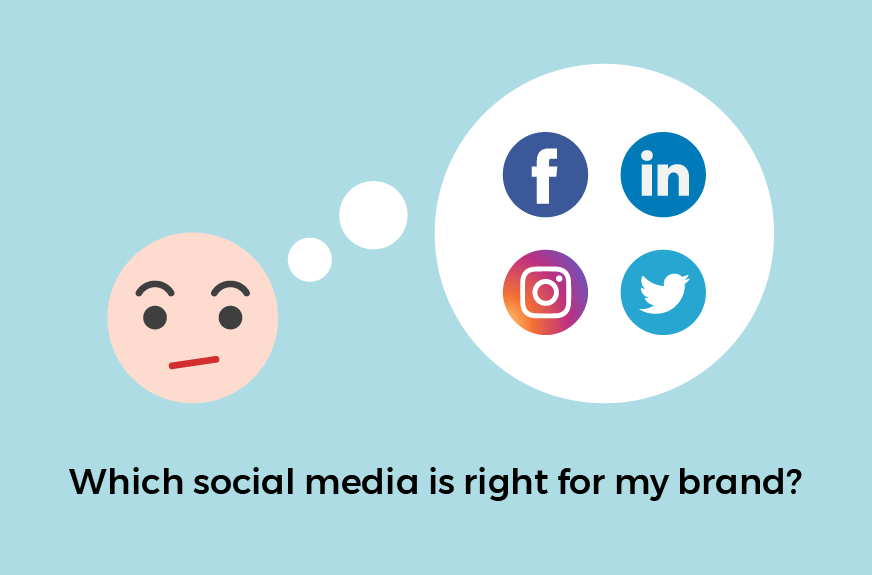 choosing the right social media branding
