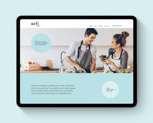 Arli Home Branding Design
