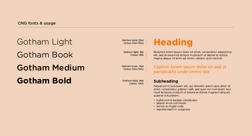 Choose fonts that are similar to your brand's style