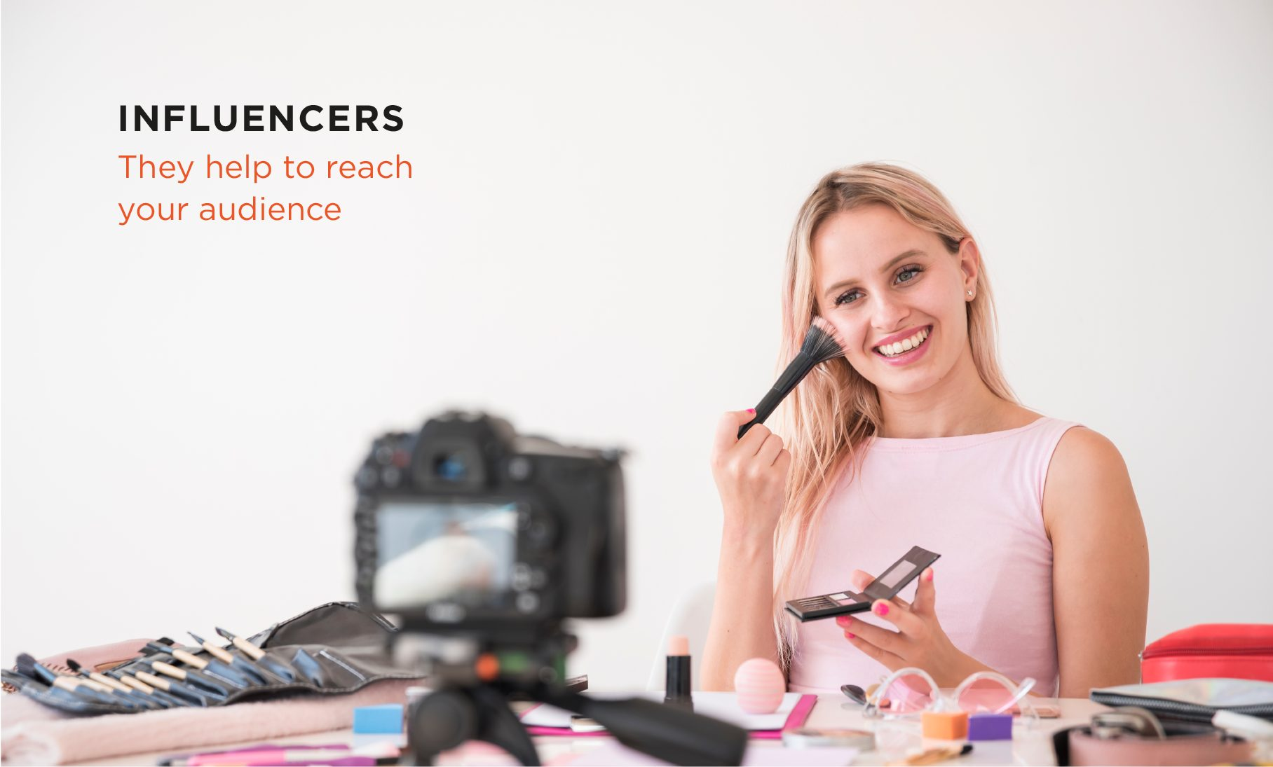Link up with influencers in your market