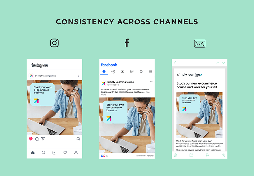 how to consistently market your brand across different platforms